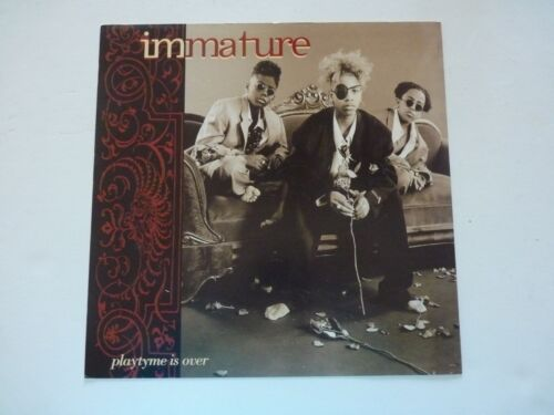 Immature Playtime is Over LP Record Photo Flat 12x12 Poster