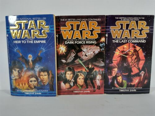 Star Wars Thrawn Trilogy: Heir to the Empire Dark Force Rising The Last Command