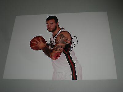 Miroslav Raduljica Basketball NBA signed signiert Autogramm auf 20x28 Foto