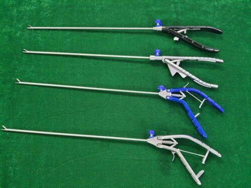 ADDLER 4pc Laparoscopic Needle Holder Straight 5mmx330mm Endoscopy Instrument