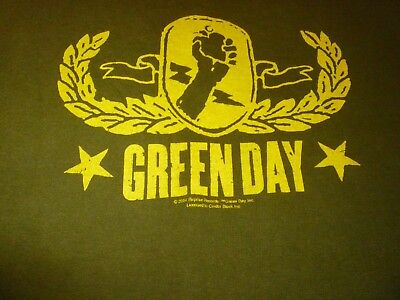 Green Day Tour Shirt ( Used Size M ) Very Good Condition!!!