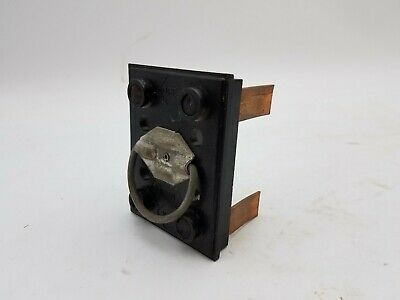 Main 2 Fuse Holder Pullout 2-34 X 3-12 Vintage Electrical Supply Used