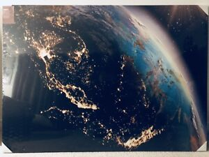 Earth from space portrait