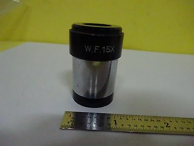 Microscope Part Eyepiece Wf 15x Optics As Is Binw8-dc-22