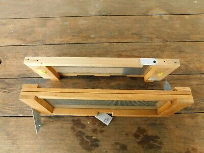 Beekeeping Robbing Screens Set Of 2 Country Rube Bee Hive Components