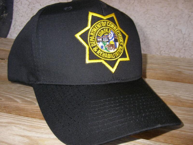 California Department of Corrections  Baseball Duty Cap