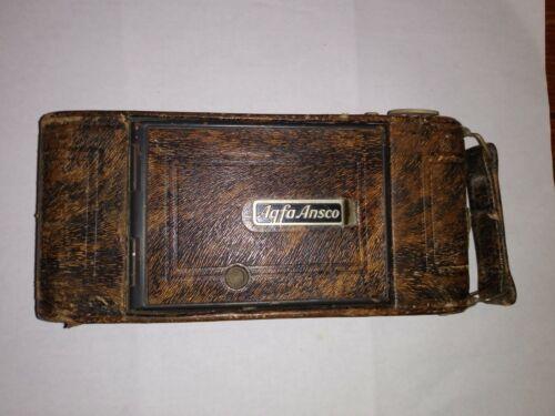 "Vintage Agfa Ansco Folding Camera ""Silver Fox"""