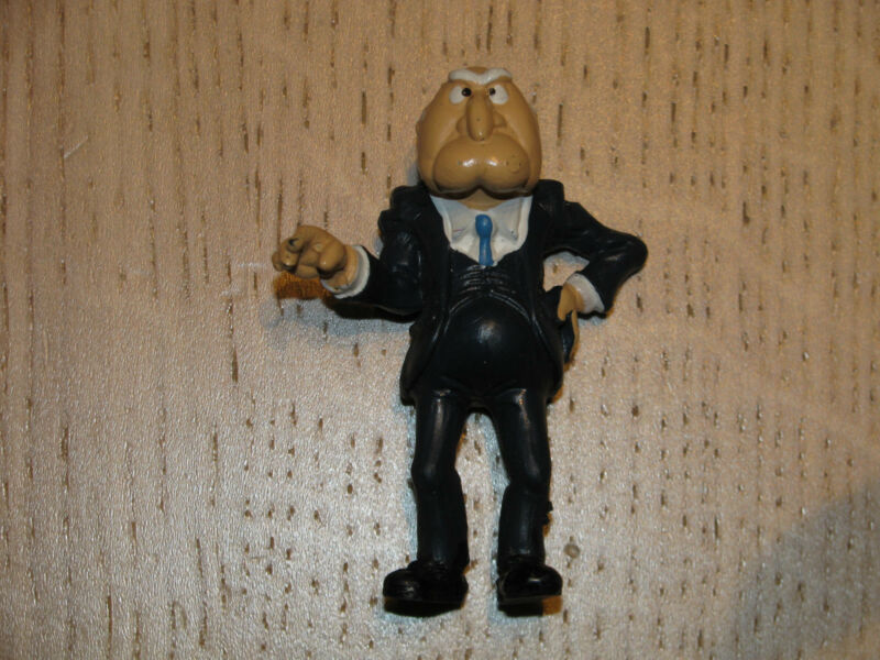 Vintage Muppet Show STATLER Figure Schleich 1978 Made in Portugal