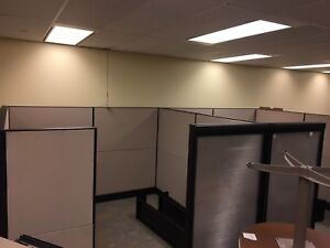 Two 8x8 Teknion Workstations