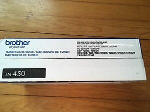 Brand new Brother toner TN-450