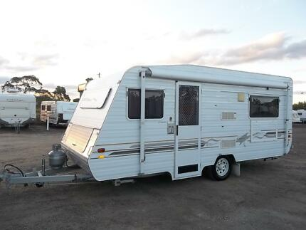 2003, 4 BERTH FAMILY CARAVAN WITH AIR CONDITIONING. IMMAC COND. Padstow Bankstown Area Preview