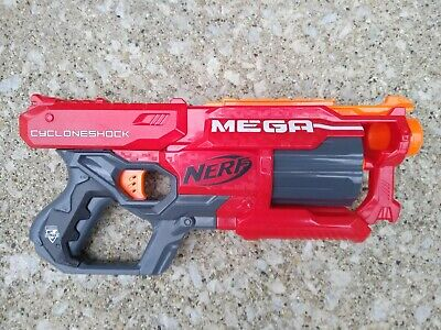 Nerf N-Strike Elite Mega CycloneShock Blaster Tested Cyclone Shock Gun
