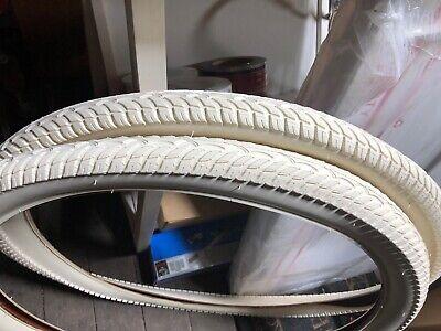 "2 Free Tubes 2 BICYCLE BALLOON TIRES 26/"" X 2.125 Clay SCHWINN TYPHOON STYLE"