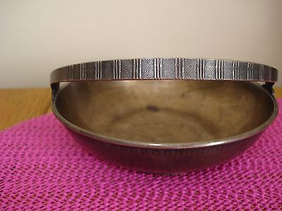 RUSSIAN SOVIET  SILVER PLATED  SUGAR BOWL