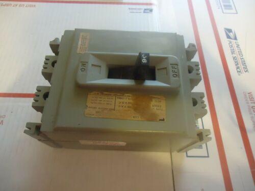 FPE Industrial Circuit breaker Type HEG  90 Amp 600 V  2 Pole