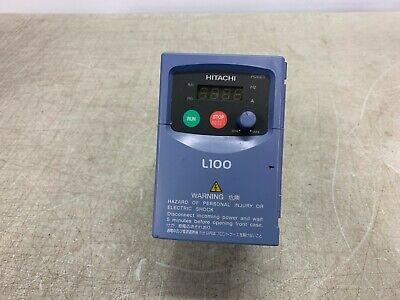 Hitachi L100-004nfe Variable Frequency Ac Drive Vfd 12hp 200-240vac 1 - 3ph