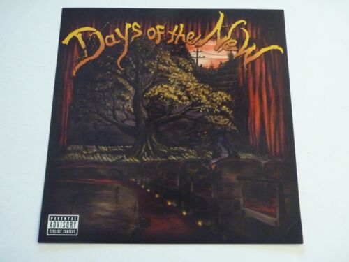 Days of the New 2001 LP Record Photo Flat 12x12 Poster