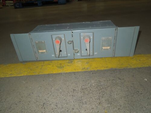 Fpe Qmqb6632 60/60a 3p 240v Twin Fusible Switch Unit Used