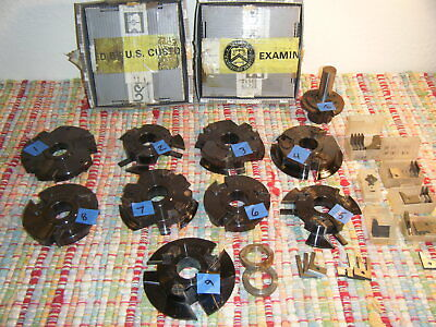Lot Of 10 Cnc Edgebander Cutter Head Moulder Biesse Iberus Royce Ayr Wood