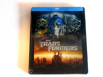 Transformers Blu-ray Collectible STEELBOOK Edition Brand New Shia LaBeouf