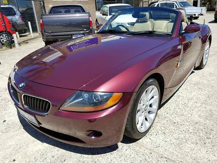 2003 BMW Z4 Convertible Roadster Auto 2.5L 146kms (Tidy!)