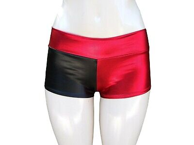 Harley Quinn Shiny Halloween Shorts in S - 3XL Same Day Shipping! Made in USA!