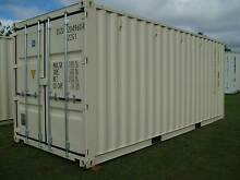20' new build cream shipping container 1 ONLY Atherton Tablelands Preview
