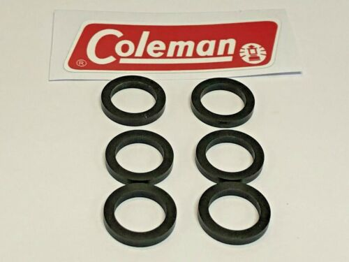 Coleman Fuel Cap (6) Gasket Seal, For Coleman Fuel Caps, Part# 001-0000-002