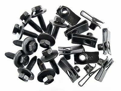 Chevy Body Bolts & U Nuts  M8 1.25mm Thread  13mm Hex  Qty.10 ea.  #155