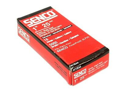 5000 New Senco 1 25mm Slight Head Brads 18ga Ay13eaa Galv Slp20 Finishpro25 Hf