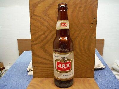 Jax Beer Longneck Bottle Returnable Bottle Vintage