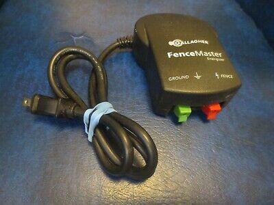 Gallagher Fence Master 110v Electric Fence Energizer  D