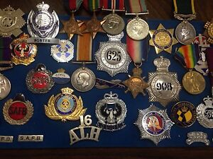 Always buying medals and badges. All types, football, military. Torrensville West Torrens Area Preview