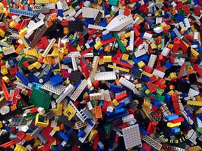 Lego Mixed Bundle 400 Pieces  - Clean & Genuine Bricks / Parts & Pieces