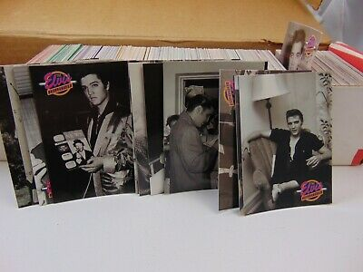 The Elvis Presley Collection- The Cards of His Life - Complete Set of 660 Cards