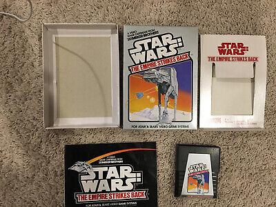 Star Wars: The Empire Strikes Back (Atari 2600, 1982) Complete