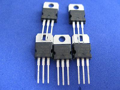 Three-terminal Voltage Regulator Assorted Kit8 Values Each 5pcs Total 40pcs
