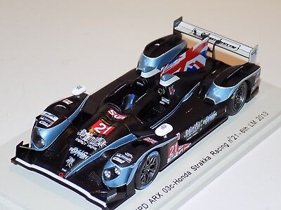 HPD Arx 01 D RML RACING Newton//Erdos 24h Le Mans 2011 1:43 SPARK 2534 NUOVO