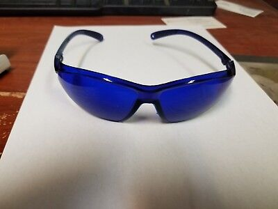 fca6e457214 Golf Ball Finder Glasses Blue Lenses Sunglasses Black Frame Zipper Case  Gift USA