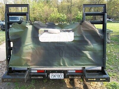 NEW M998 Humvee 2 MAN SOFT TOP Rear Curtain Hummer 12340737-2