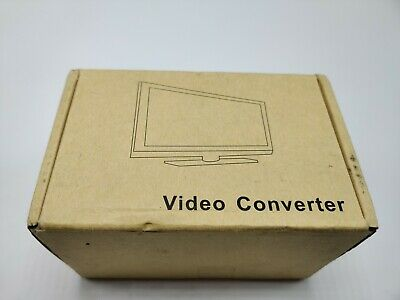 HDMI to AV/S Video Converter 1080P Video Converter Box with AV Svideo Cable