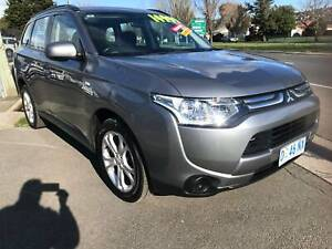 2013 Mitsubishi Outlander 4X4 SUV Automatic Invermay Launceston Area Preview