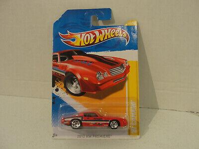 2012 Hot Wheels '81 CAMARO New Models 43/247 Red