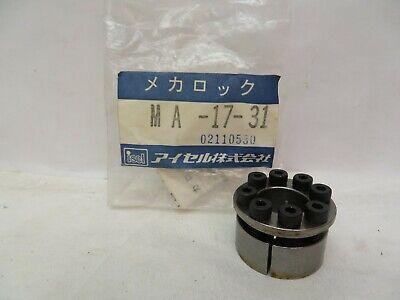 New Isel Ma-17-31 Ma1731 Mechanical Mecha-lock Coupling 18mm Id 31mm Od