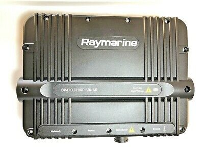 Raymarine CP470 Chirp Sonar £E70298 perfect. Free & fast delivery