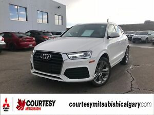 2018 Audi Q3 2.0T PROGRESSIV * HEATED LEATHER INTERIOR, PANORAM