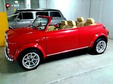 1969 Classic Convertible Custom Mini Cooper Roadster Wedding Limo Homebush West Strathfield Area Preview
