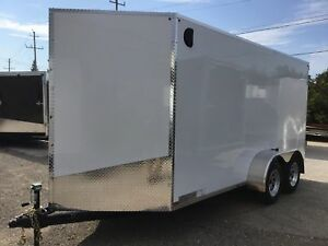 2019 Canadian Trailer Company 6X14 V-Nose Cargo Trailer