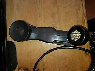 EX-Army Telephone handset wired for YAESU 8 pin Transceivers, used for sale  Sunderland