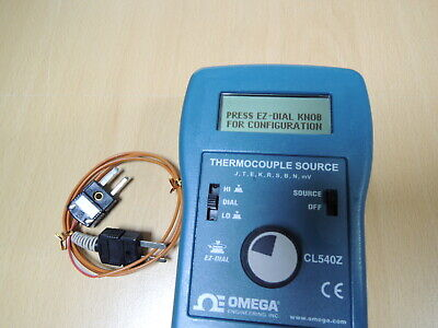 Omega Thermocouple Source Cl540z Free Expedited Shipping
